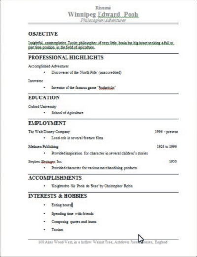 should resume pages be numbered resume ideas